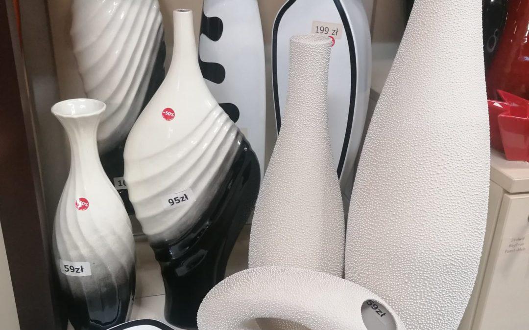 WYPREDAŻ wazonów i figurek ceramicznych